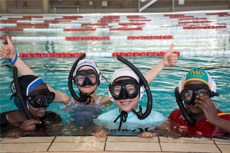 MY Swim to Sports program: teaching young people from migrant and refugee backgrounds to swim.